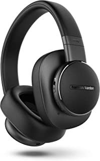 Harman Kardon FLY ANC - Wireless over-ear noise-cancelling headphones with built-in Google Assistant and Amazon Alexa, Blu...