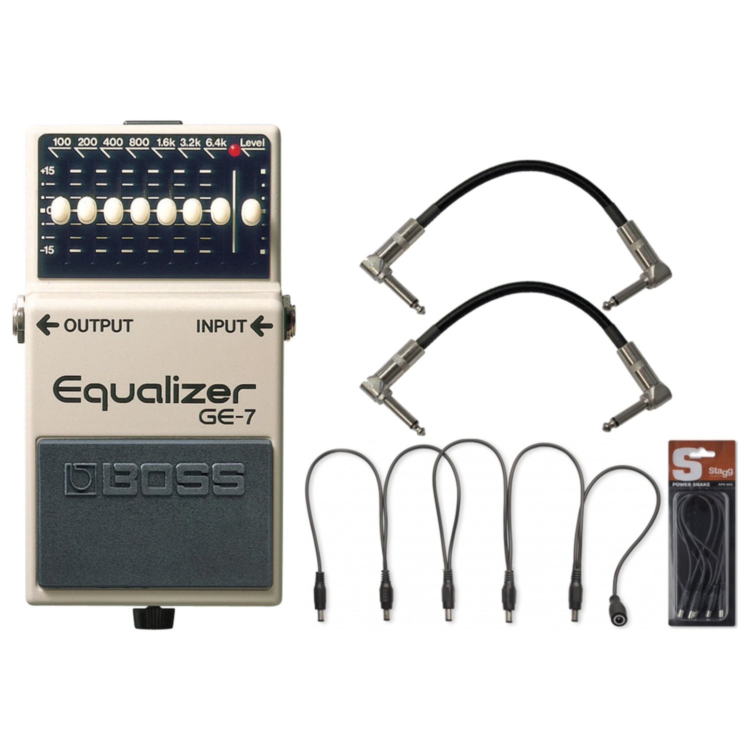 BOSS GE 7 Graphic Equalizer Cables