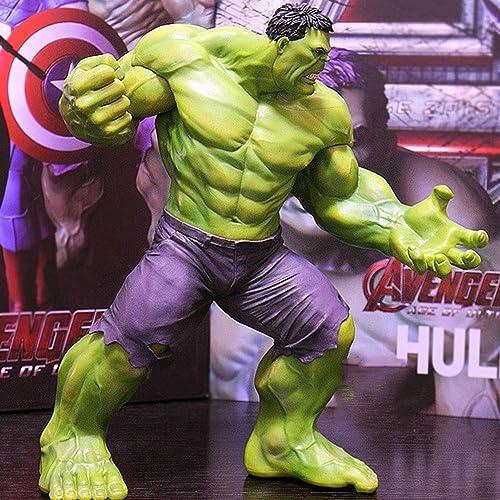 clásico atemporal Marvel Hulk Hulk Acción Modelo Modelo Modelo De Juguete Decoración del Hogar PVC Material Altura 23 CM  compras de moda online