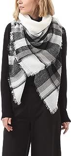 Women's Scarves Fall Fashion Scarfs Soft Plaid Blanket Scarf For Women Winter Shawl Cape Scarf Wrap