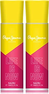Pepe Jeans London Life Is Now Women Body Mist 150ml (Pack Of 2)