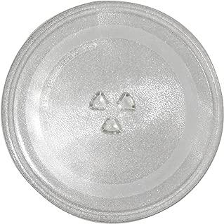 Plato de cristal de microondas resistente al calor de 31,5 cm de ...