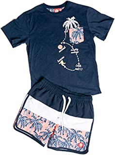 ALPHADVENTURE Go/&Win Conjunto Ba/ñador y Camiseta Frang Jr Ni/ño
