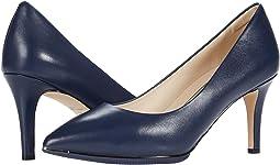 Marine Blue Leather/Black Sole Edge/Marine Blue/Gold