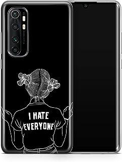 covery cases Silicon Back Cover For Xiaomi Mi Note 10 Lite - Multi Color