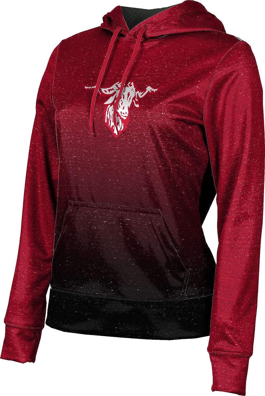 ProSphere Fredericksburg High School Girls' Pullover Hoodie, School Spirit Sweatshirt (Ombre)