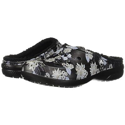 Crocs Freesail Graphic Lined (Black/Floral) Women