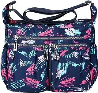 VBG VBIGER Shoulder Bag Crossbody Bags for Women Nylon Travel Purse Waterproof Shoulder Travel Handbags With Adjustable Strap Waterproof