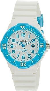 Casio Ladies Blue Dial White Resin Band Watch [LRW-200H-2BV], Analog