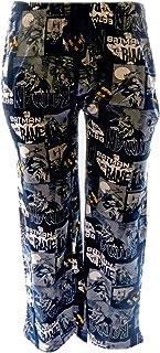 Mens DC Comics Batman Character Cotton Pyjama Trouser Bottoms Sleepwear Nightwear