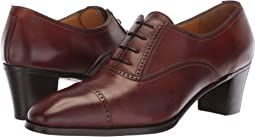 Mid-Heel Cap Toe Oxford