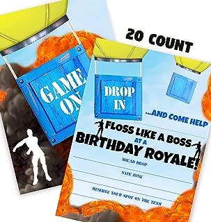 Best game truck birthday invitations Reviews