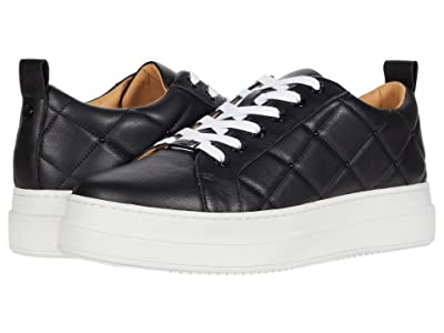 J/Slides Noreen (Black Leather) Women
