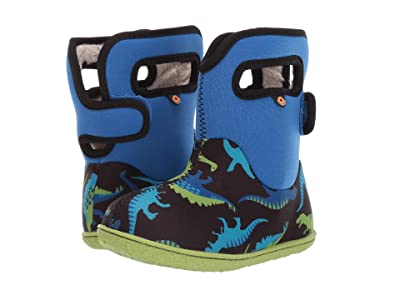 Bogs Kids Baby Bogs Dino (Toddler) (Electric Blue Multi) Boys Shoes