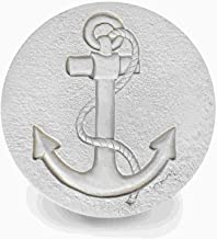 Set of 4 Anchor Stoneware Drink Coasters Super Absorbent