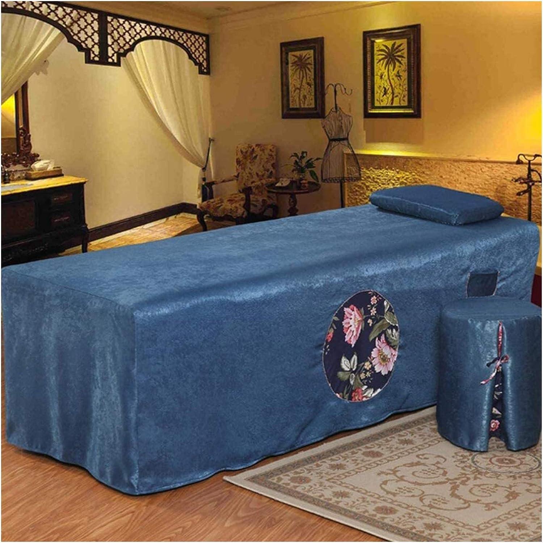 ZHANGYN Massage Las Vegas Mall Popular Table Sheet Sets Spa Beauty Bed Stit Cover Lace