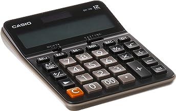 CASIO DX-12B-BK - Calculadora de sobremesa - 12 Dígitos -
