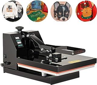 SUNCOO 15X15 Heat Press, T Shirt Printing Machine, Digital Heat Transfer Industrial Quality Power Press Machine, 1200W Sub...