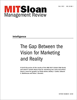 The Gap Between the Vision for Marketing and Reality - Journal Article (English Edition)