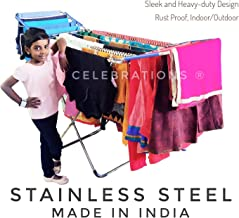 Celebrations STAINLESS STEEL Cloth Drying Stand