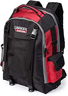Lincoln Electric Welders All-in-One Backpack | Tool, PPE and Electronics Storage | Adjustable External Storage Net | K3740-1