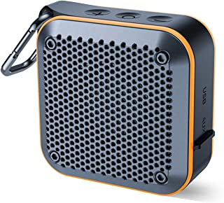 Portable Waterproof Bluetooth Speaker with FM Radio, IPX7 Waterproof Speaker Bluetooth..