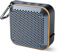 Portable Waterproof Bluetooth Speaker with FM Radio, IPX7 Waterproof Speaker Bluetooth..