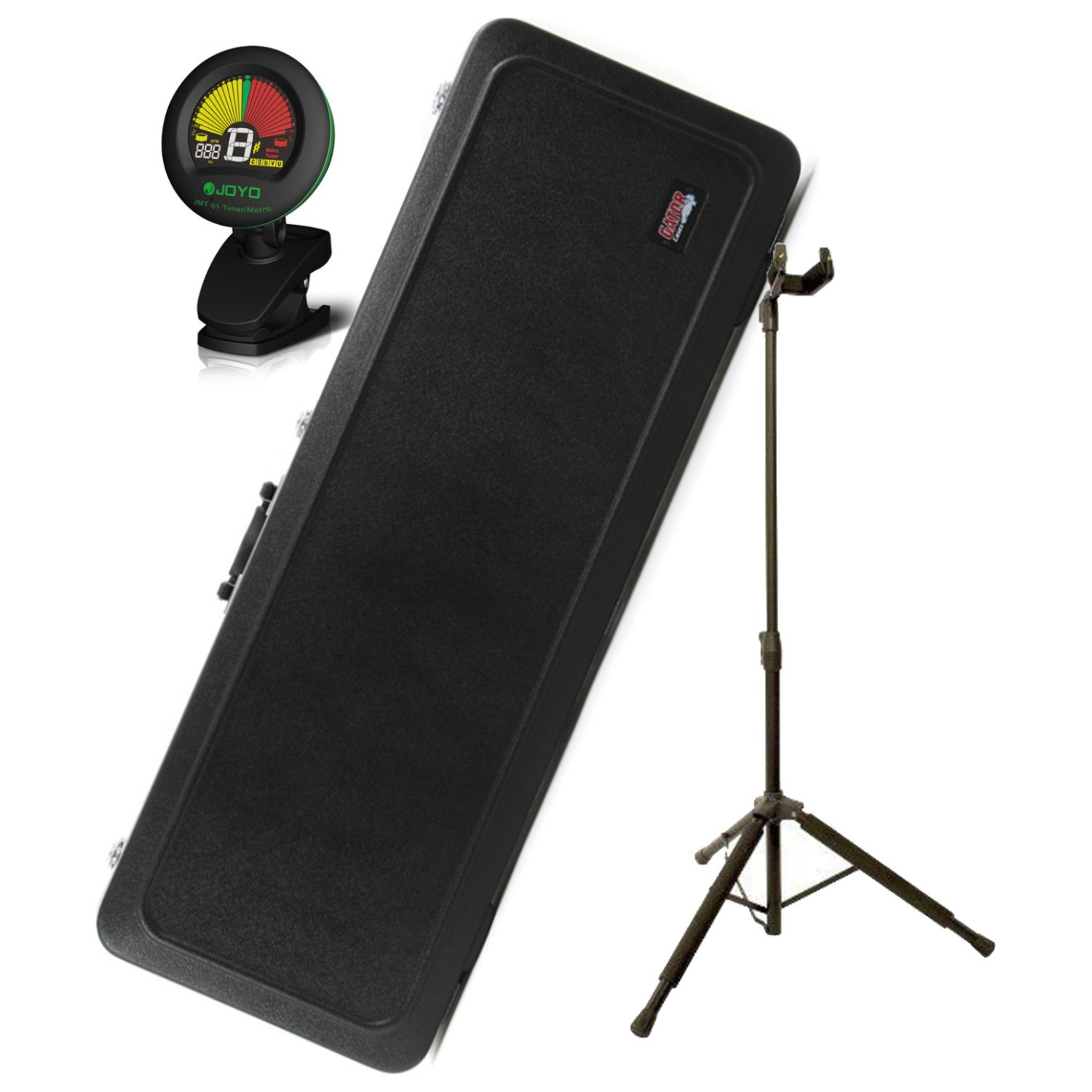 Cheap Gator GC-ELEC-A Deluxe Electric Guitar Case w/Tuner and Guitar Stand Black Friday & Cyber Monday 2019