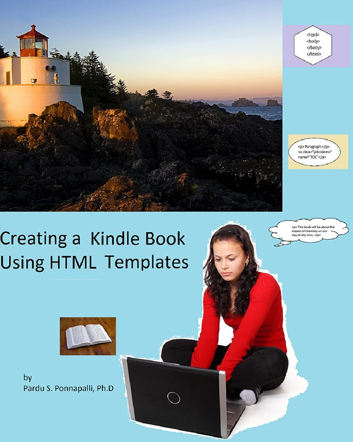 脅威放牧する監督するCreating a Kindle Book Using HTML Templates (English Edition)