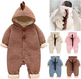Giacca in Pile per Bambino Autunno Inverno Cappotto in Maglione di Peluche per Ragazze con Cerniera Calda Spessa Calda 0-7 Anni