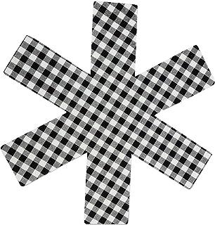 ZSL Protectores Conjunto de la cacerola de 8, sartenes ollas Separador AntiSlip para evitar rayar telas no tejidas para ollas, sartenes, Sartenes, cuencos, Cookwa