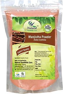 100% Pure Natural Manjistha Root Powder(Rubia Cordifolia)(100 gm/ (0.22 lb)/3.5 ounces) by Natural Healthlife Care