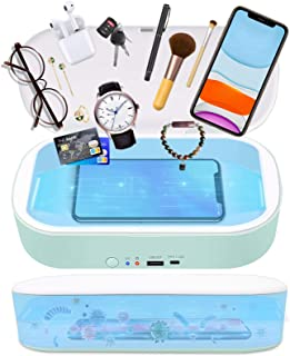 TRONICMASTER UV Light Sanitizer Box,UV Sterilizer for Your Phone iPhone Device Sanitizer(EPA Est No.: 97631-CHN-1)