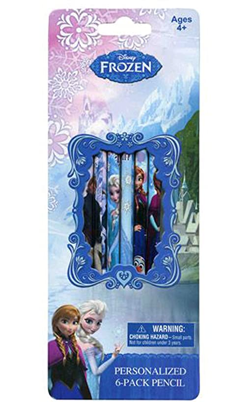 Disney Frozen Wooden Pencils Set (6 Pack)