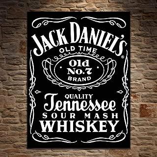 signs-unique Jack Daniels Black Label (large) Steel Sign de