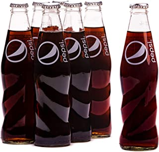 Diet Pepsi, Carbonated Soft Drink, Glass Bottle, 6 x 250ml