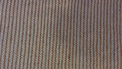 Alfombra de yute natural ecológica, color beige, a rayas, hecha a ...