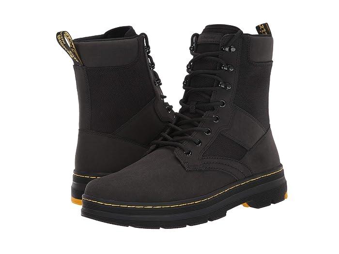 Dr. Martens  Iowa Tract II (Black Turby Split/Extra Tough Nylon) Shoes