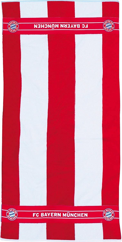 FC Bayern FC Bayern bath towel terry red size 70x140 cm