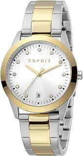 ساعة دافني كوارتز عصرية للنساء من اسبريت - موديل ES1L197M0095