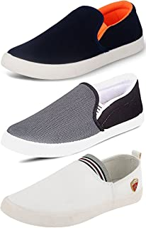 Ethics Men's Combo Pack of 3 Loafers & Moccasins