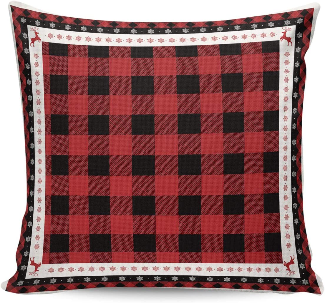 ARTSHOWING Christmas Soft Soldering Couch Japan's largest assortment Throw Pillowcase Printed Square