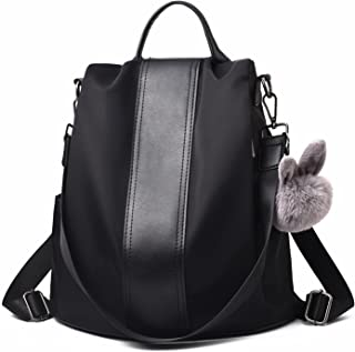 Women Backpack Purse Waterproof Nylon Schoolbags...