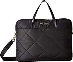 Quilted Universal Slim Laptop Commuter