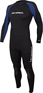 Lemorecn Mens Wetsuits Jumpsuit Neoprene 3/2mm and 5/4mm Full Body Diving Suit for Men and Women