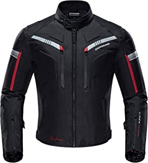 Motorcycle Jacket Motorbike Biker Riding Jackets Windproof Full Body Protective Gear CE Armoured Autumn Winter for Men