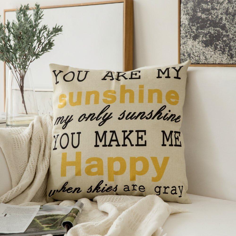 MIULEE Decorative Throw Pillow Ranking TOP12 Linen Pillowcase Ranking TOP10 Farmhouse Cover