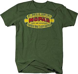 Racing Classic Logo Hotrod Muscle Car Vintage Car Graphic T Shirt for Men