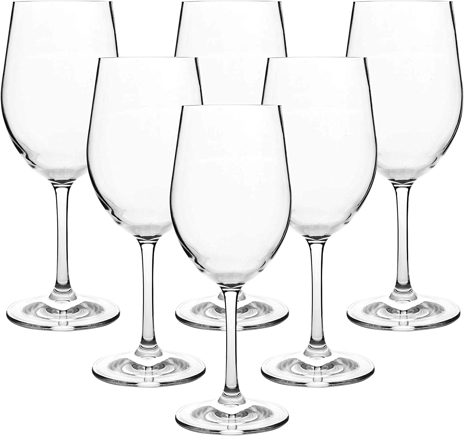 12-ounce Unbreakable Wine Boston Mall Glasses-Acrylic Plastic Stem 2021 autumn and winter new Glas