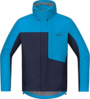 GORE WEAR Men's Hooded Cycling Jacket, C3, GORE-TEX PACLITE